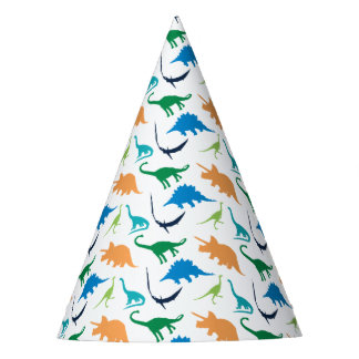 Preppy Dinosaur Birthday Party Hats