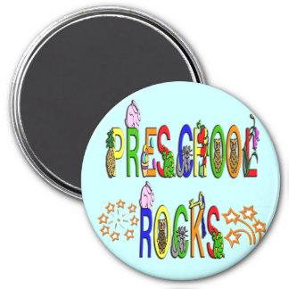Preschool Rocks - Stars Refrigerator Magnets