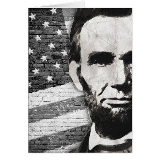 President Abraham Lincoln Card