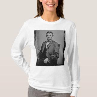 President Abraham Lincoln Portrait by Mathew Brady T-Shirt