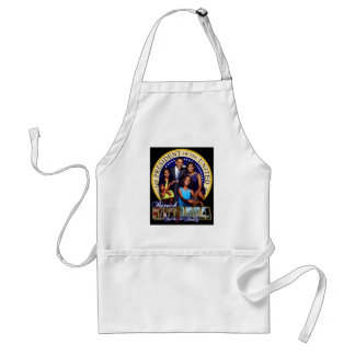 PRESIDENT BARACK OBAMA AND FAMILY STANDARD APRON