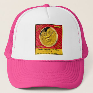 President Dick Cheney Commemorative Coin Trucker Hat