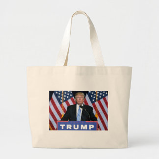 President Donald Trump Large Tote Bag
