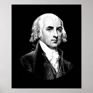 President James Madison Poster