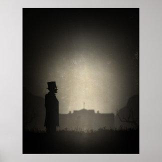 President Lincoln in Limbo Poster