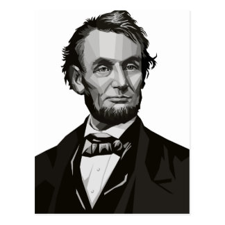 President Lincoln Postcard