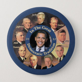 President Obama 2012 10 Cm Round Badge