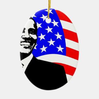 President Obama Attire Christmas Ornament