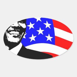 President Obama Attire Oval Sticker
