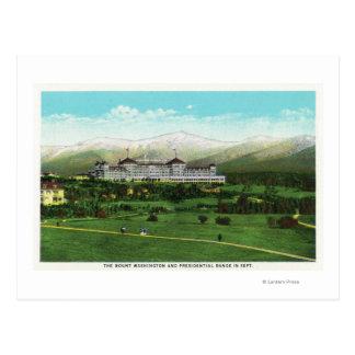 Presidential Range in September Postcard