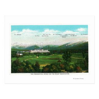 Presidential Range View # 3 Postcard
