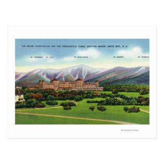 Presidential Range View Postcard