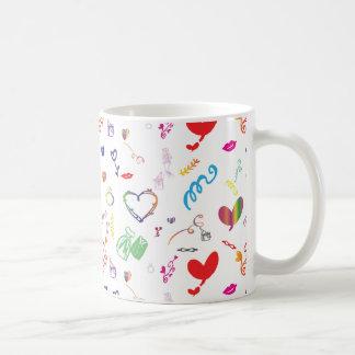 Pretty Bridal, Wedding Theme Basic White Mug