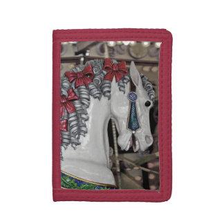 Pretty carousel horse print wallet
