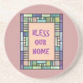 Pretty Country Bless Our Home-Coasters Coaster