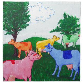 Pretty Cows Printed Napkin
