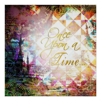 Pretty Fairytale Once Upon a Time Poster