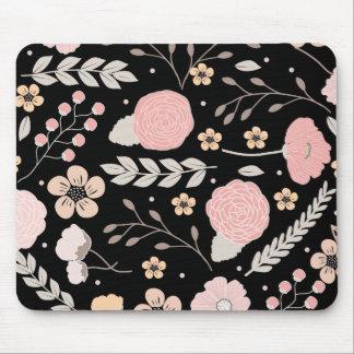 Pretty Floral Botanical Mousepad