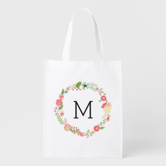 Pretty Floral Monogram