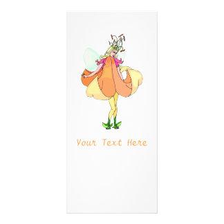 Pretty Flower Fairy Personalised Rack Card