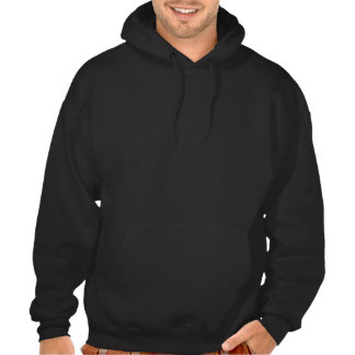 Pretty Gold Ribbon Gift Bow Holiday Hooded Sweatsh Hooded Sweatshirt