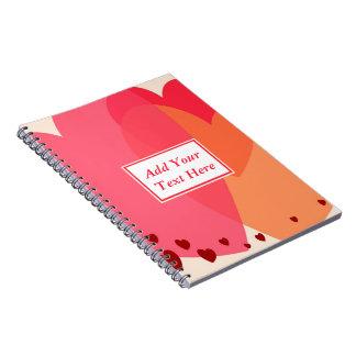 Pretty Hearts Spiral Notebook