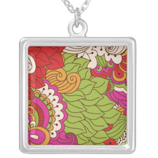 Pretty Honest Easygoing Trusting Square Pendant Necklace