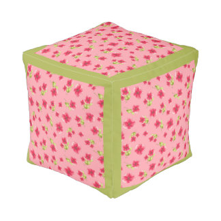 Pretty in Pink Pouf