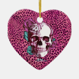 Pretty in Punk Shocking Leopard Products! thnx PJ Ceramic Heart Decoration