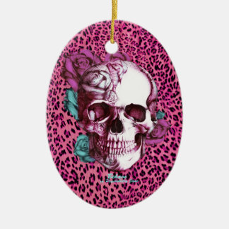 Pretty in Punk Shocking Leopard Products! thnx PJ Ceramic Oval Decoration