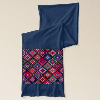 Pretty Kilim Style Pattern Scarf