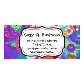 Pretty Kitty Crazy Cat Lady Gifts Business Cards Rack Cards