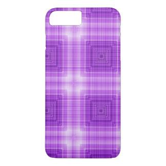 Pretty Lavender Plaid Pattern iPhone 8 Plus/7 Plus Case