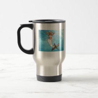 Pretty Mermaid Travel Mug