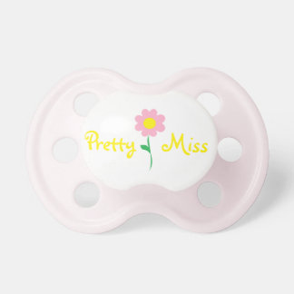Pretty Miss Baby Pacifier
