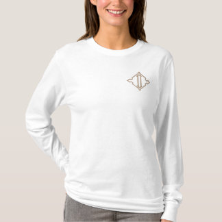 Pretty Monogram D Embroidered T-shirt