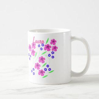 Pretty mug with name