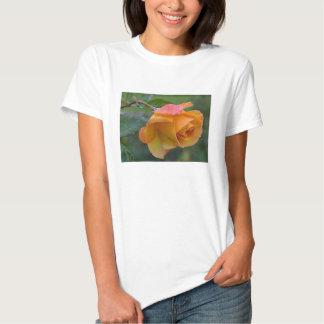 Pretty Orange and Pink Rose T-shirt