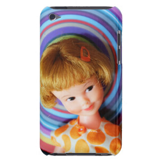 Pretty Penny Brite with circles iPod Touch Case-Mate Case