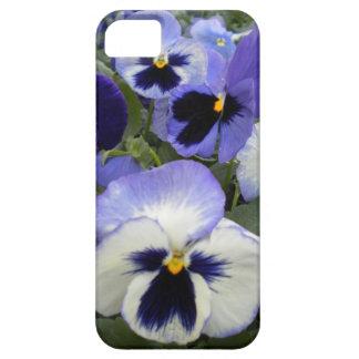 Pretty Periwinkle Pansies IPhone 5 Case