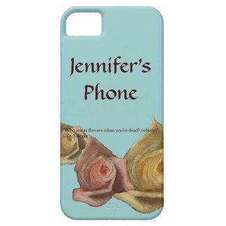 pretty phone case flowers