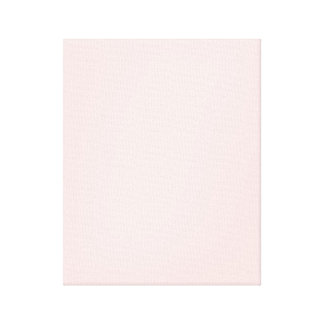 Pretty Pink Baby Pink Stretched Canvas Prints