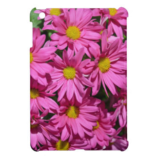 Pretty pink chrysanthemum flowers print iPad mini cases