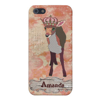 Pretty Pink Fawn  iPhone Case iPhone 5/5S Case