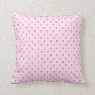 Pretty Pink Hearts Pillow Cushions
