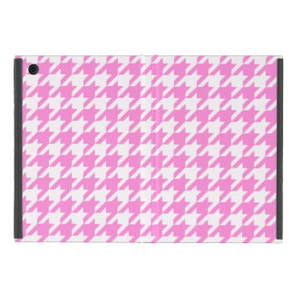 Pretty Pink Houndstooth 1 iPad Mini Cover