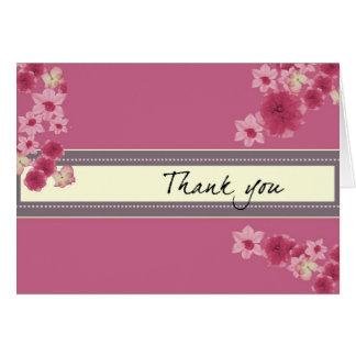 Pretty Pink Petals Card