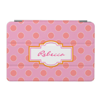 Pretty Polka Dot Personalized iPad Mini Cover