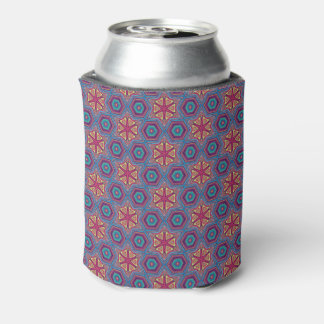 Pretty Repeat Pattern Beer Sleeve / Can Cooler