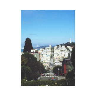Pretty San Francisco Picture Canvas Print